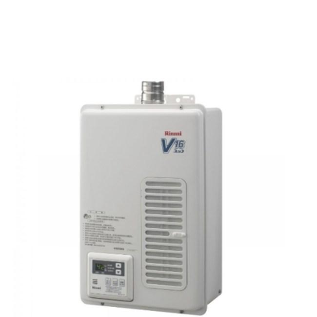 (無安裝)林內16公升熱水器天然氣REU-V1611WFA-TR_NG1-X