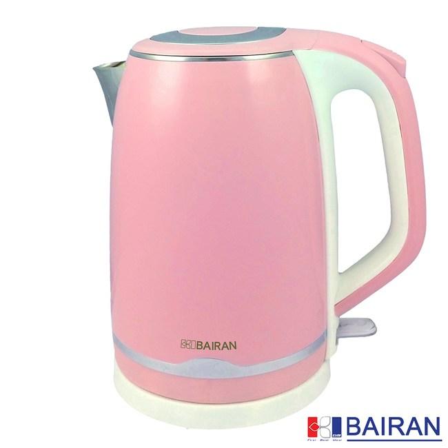 【白朗BAIRAN】2L雙層防燙不鏽鋼快煮壺(FBET-E05)