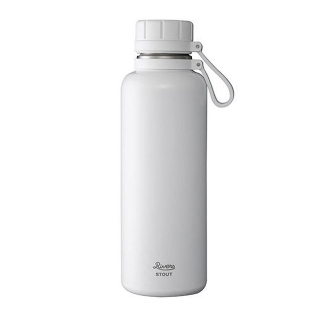 日本 Rivers VACUUM真空保溫瓶1000ml-共5色白色