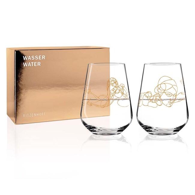 德國 RITZENHOFF 希臘神話水酒對杯(1組2入)