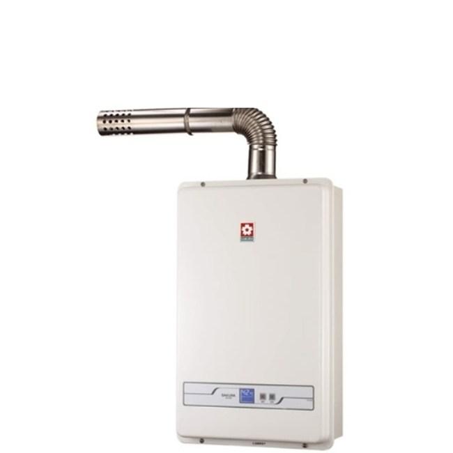 (無安裝)櫻花13公升強制排氣熱水器天然氣SH-1335N-X