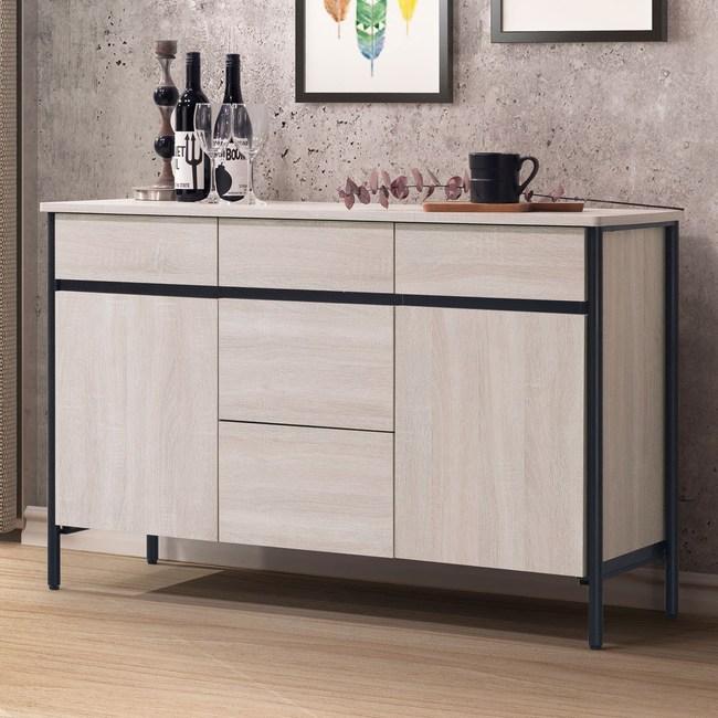 Homelike 利奧尼4尺餐櫃