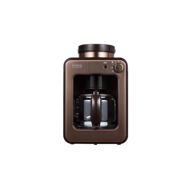 SIROCA 全自動研磨咖啡機 SC-A1210CB(金棕色)