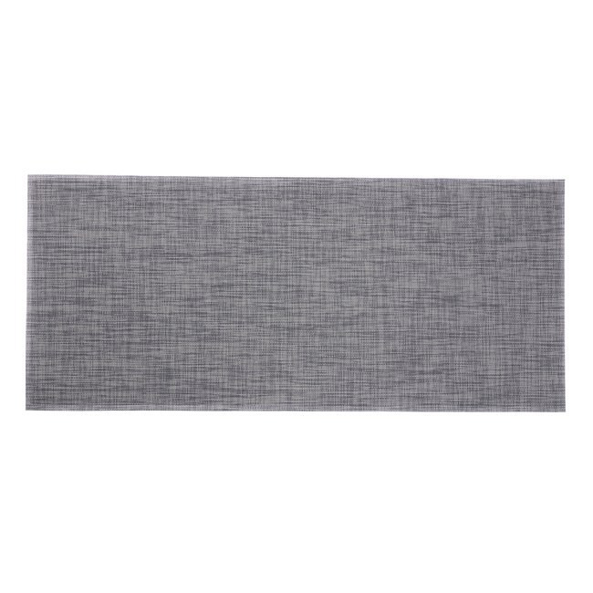 HOLA 特斯勒時尚編織踏墊50x115cm 灰藍