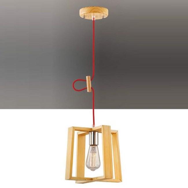 YPHOME 北歐原木單吊燈 FB12544