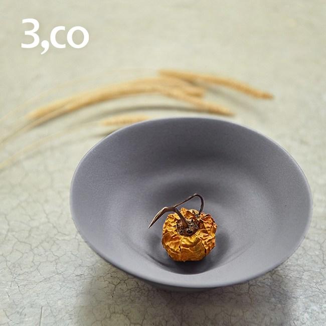 【3 co】水波系列小碗- 灰(1號)