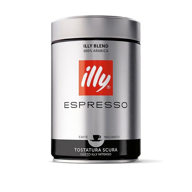 義大利ILLY意利咖啡粉深焙250G
