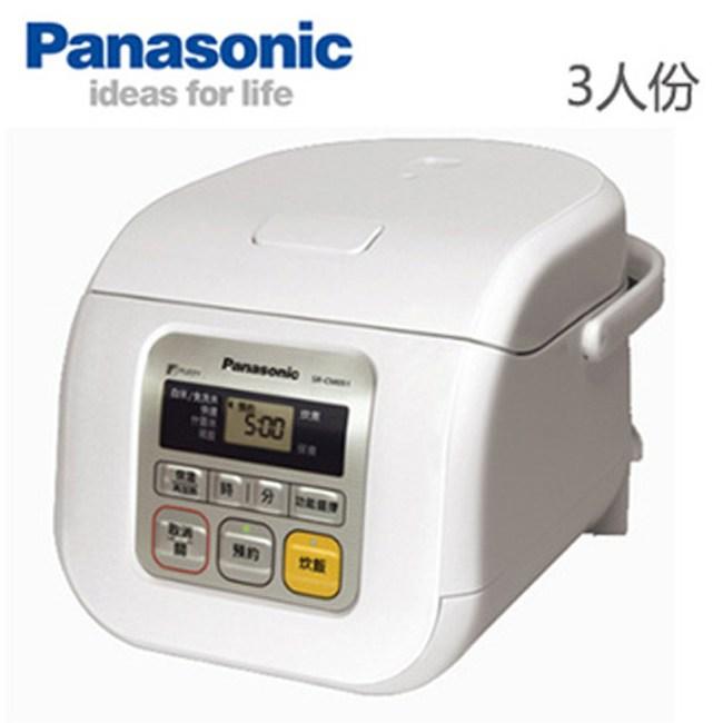 Panasonic 國際牌 3人份 微電腦電子鍋 SR-CM051