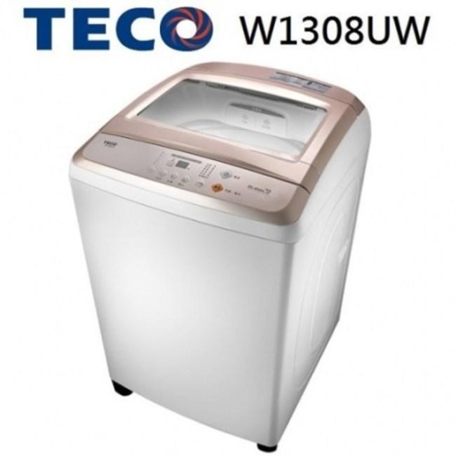 TECO 東元 13KG 人工智慧超音波定頻洗衣機 W1308UW