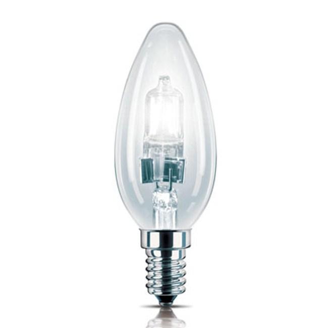 PH 蠟燭省電鹵素燈泡 E14 28 瓦 CL