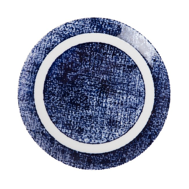 日本藍印圓盤24cm紋理