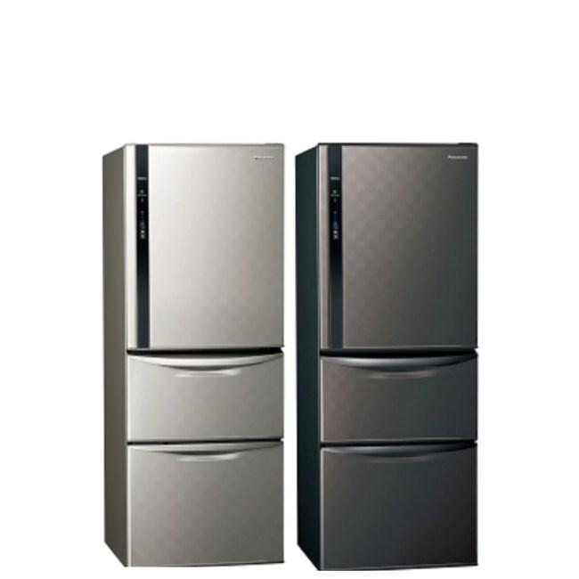 國際牌468公升三門變頻冰箱絲紋灰NR-C479HV-L絲紋灰