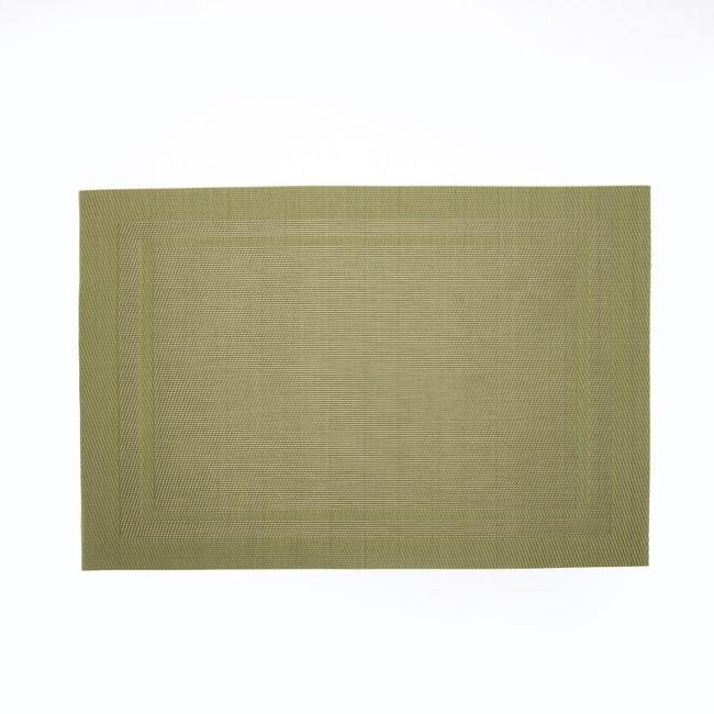 HOLA 雙框PVC餐墊30x45cm 綠