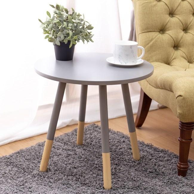 帕姆小圓桌 灰色款 型號AS-SMT-1803-2