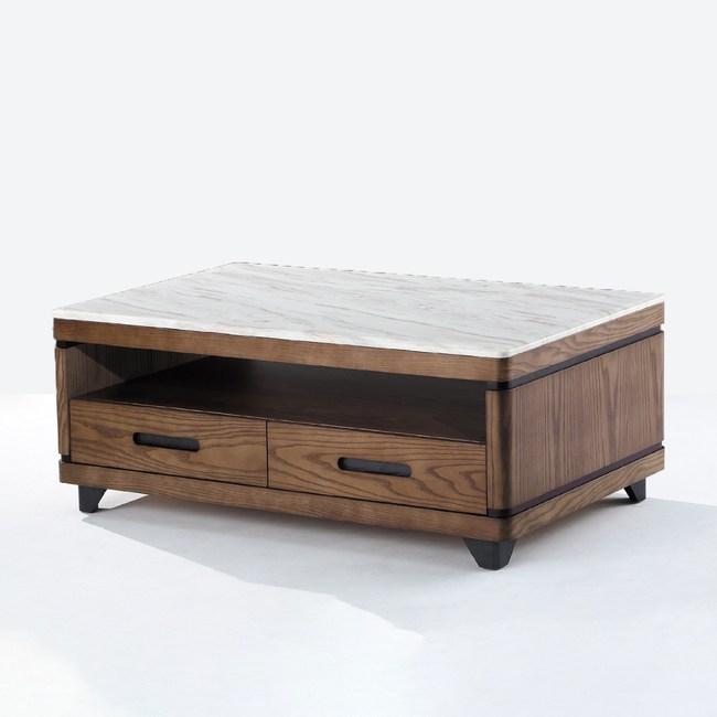 【YFS】珊迪胡桃大茶几-130x70x48cm