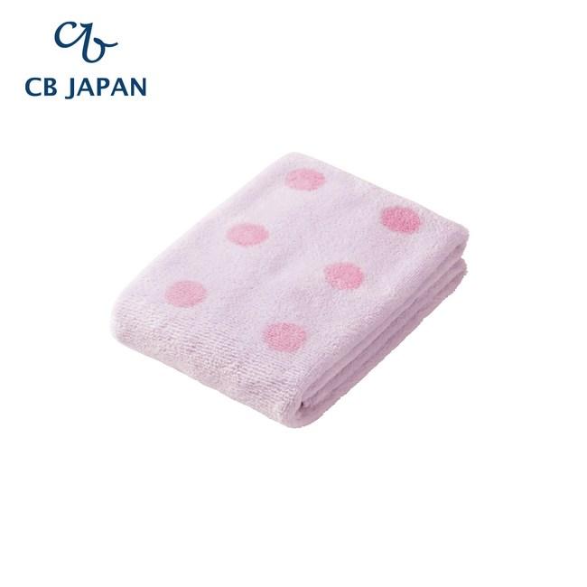 CB Japan 點點系列超細纖維3倍吸水毛巾(2入)甜心紫