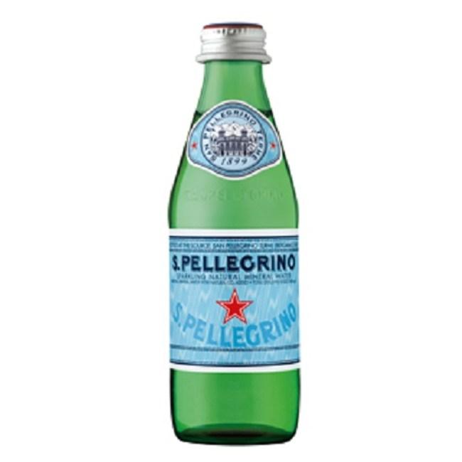 聖沛黎洛 天然氣泡礦泉水(250ml) x 24瓶(箱購)