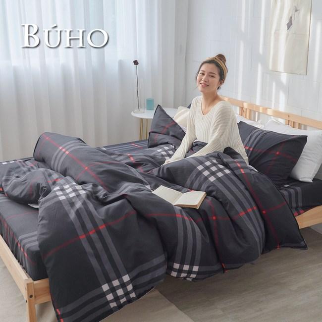 BUHO 單人床包+雙人舖棉兩用被三件組(城市玩家)