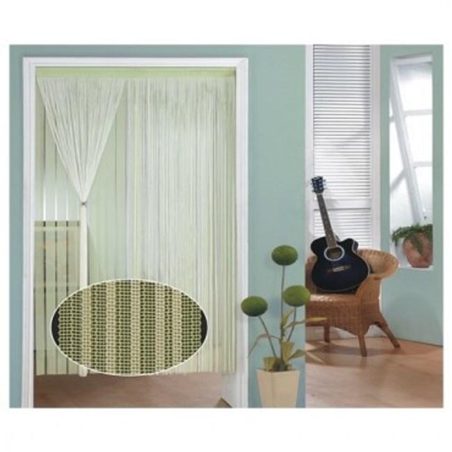 金格拉斯線簾90x240cm粉綠