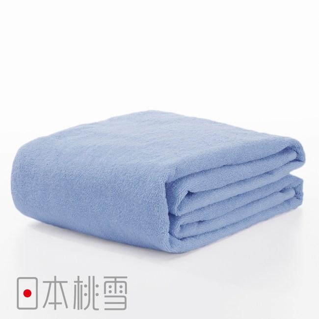 日本桃雪【飯店超大浴巾】藍色