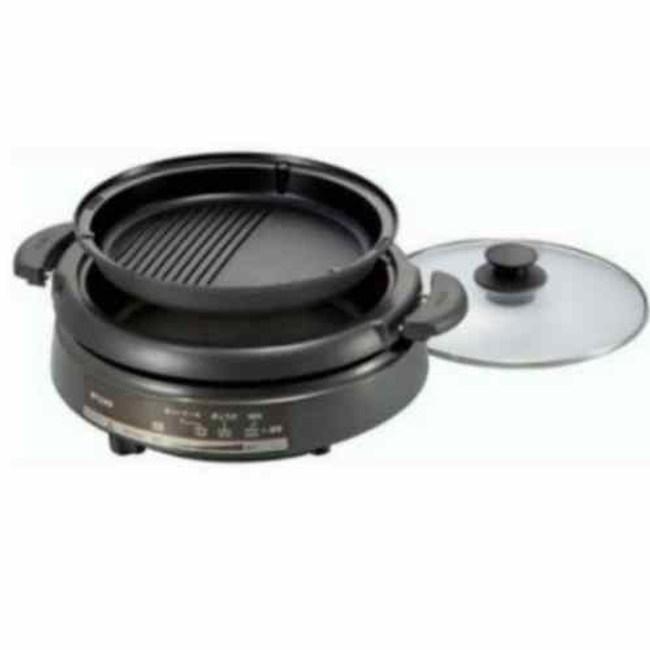 【TIGER虎牌】3.5L多功能鐵板萬用鍋(CQE-A11R)
