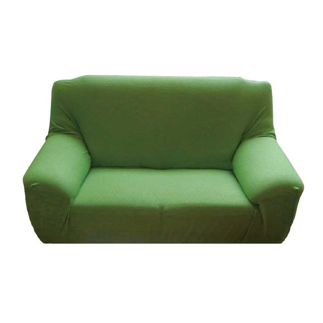 HOLA 混紡彈性一人沙發套120x100cm 綠色