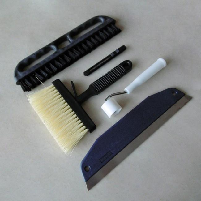 五件貼壁紙工具組