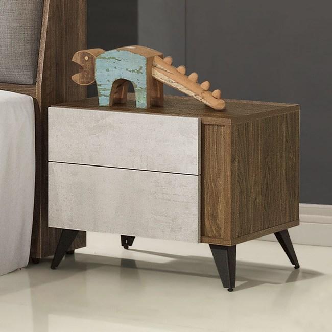 Homelike 席卡床頭櫃-免組裝