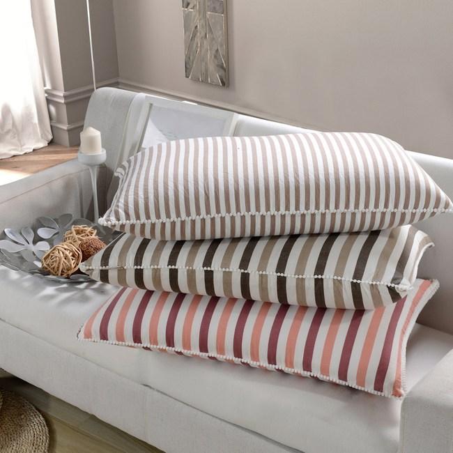【Betrise買一送一】睡眠品質--超Q彈力抗菌水洗綿水洗枕焦茶棕X2
