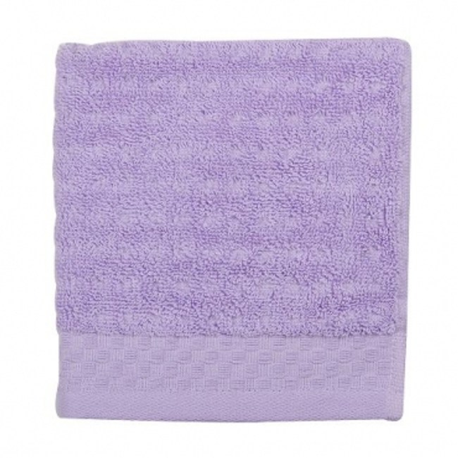 HOLA home 格紋方巾 紫色 33x33cm