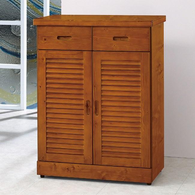 【YFS】詹姆士樟木3尺鞋櫃-79.5x40x107cm