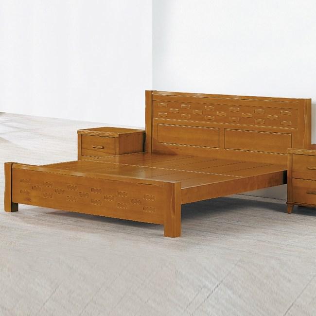 【YFS】艾理斯6尺編織床台-183x205x97cm
