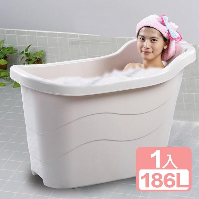 《真心良品》省水泡澡桶186L-1入組