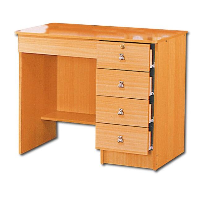 【YFS】培迪美檜3尺書桌下座-91x57x76cm