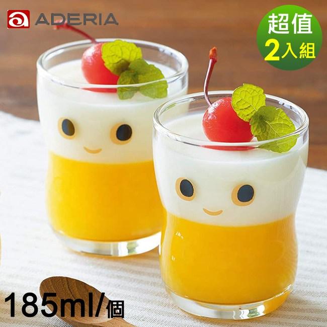 【ADERIA】日本進口NICO系列大眼娃娃造型杯2入組-185ml