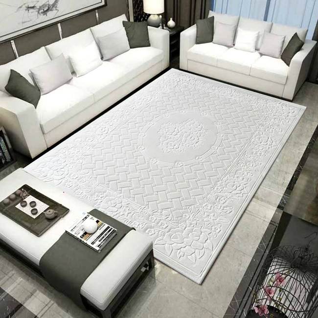 【YFS】羊毛手工片剪地毯-圓滿170x240cm