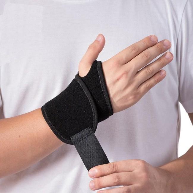 PUSH!運動用品透氣加厚抗菌運動護腕(升級版)H29