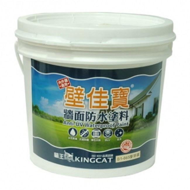 貓王壁佳寶防水塗料13.5L百合白