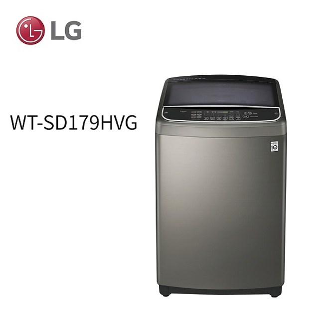 LG 樂金 17公斤DD直立式變頻洗衣機 WT-SD179HVG