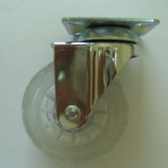 3吋全透明普通輪(平板60X60)
