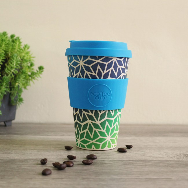 Ecoffee Cup 環保隨行杯14oz(冰晶藍)