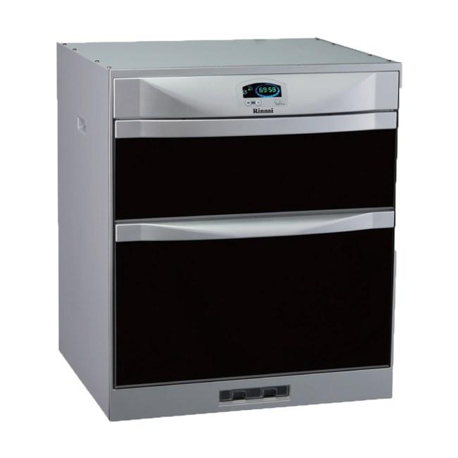 【林內】RKD-4553(P) 落地式雙抽屜烘碗機45cm