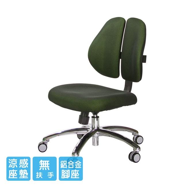 GXG 短背涼感 雙背椅 (鋁腳/無扶手)TW-2992 LUNH#訂購備註顏色