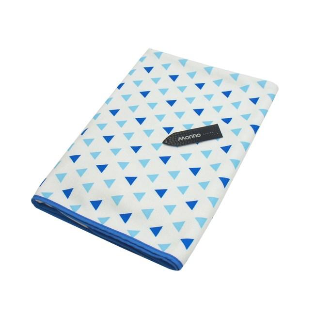MORINO超細纖維滿版浴巾-三角