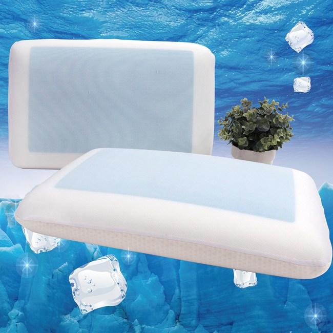 【Victoria】基本型凝膠記憶枕(1入)