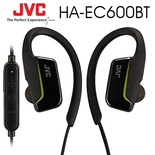【送收納盒】JVC HA-EC600BT 黑 藍芽無線 防汗防濺水