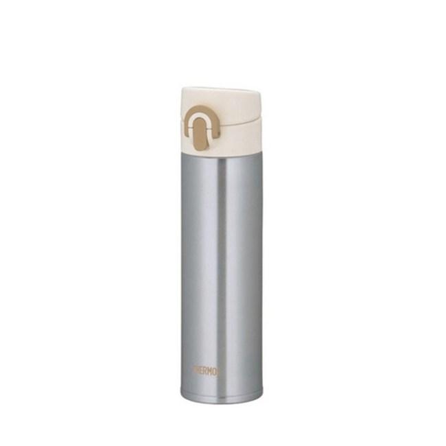 膳魔師【JNI-400-SL】400ml彈蓋超輕量保溫杯-SL銀色
