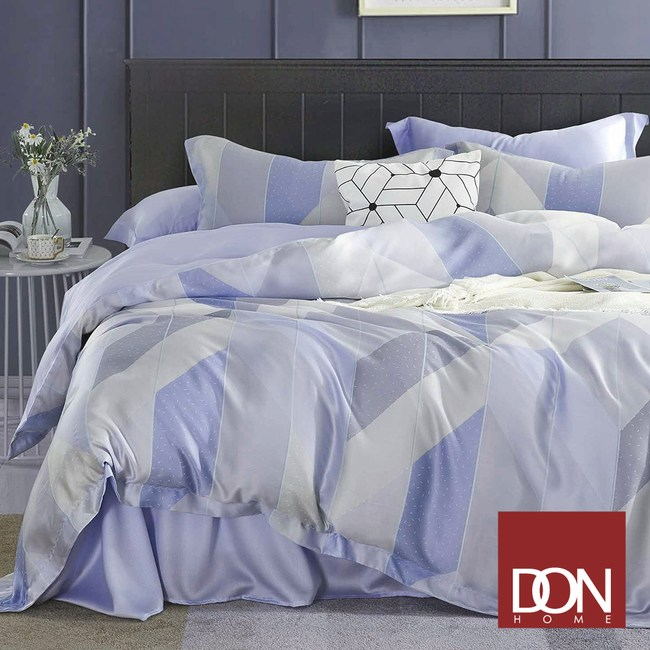 【DON】微光城市雙人四件式天絲兩用被床包組