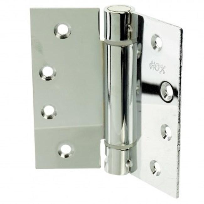 鐵鍍亮鉻單開彈簧鉸鏈4X4X2.5