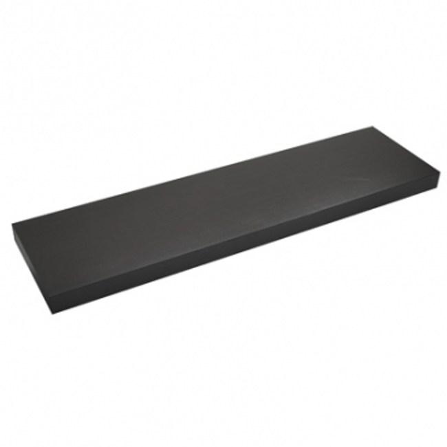 特力屋超厚棚板附托架-胡桃木色W90